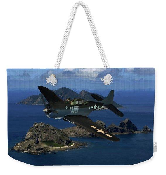 Dauntless On Patrol Weekender Tote Bag