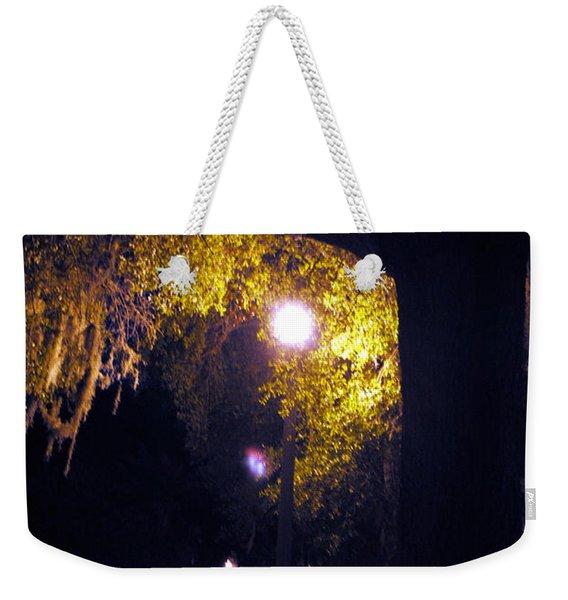 Davenport At Night Weekender Tote Bag