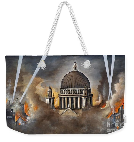 Defiance Weekender Tote Bag