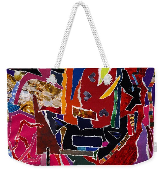 Definitively Every Direction Weekender Tote Bag