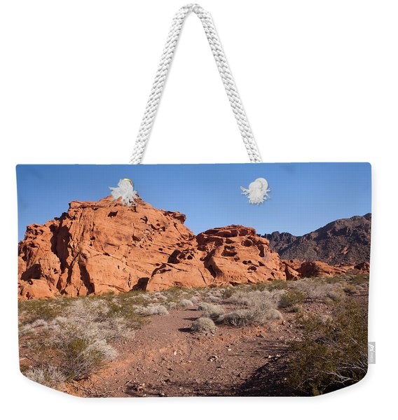 Desert Rock Formations Weekender Tote Bag