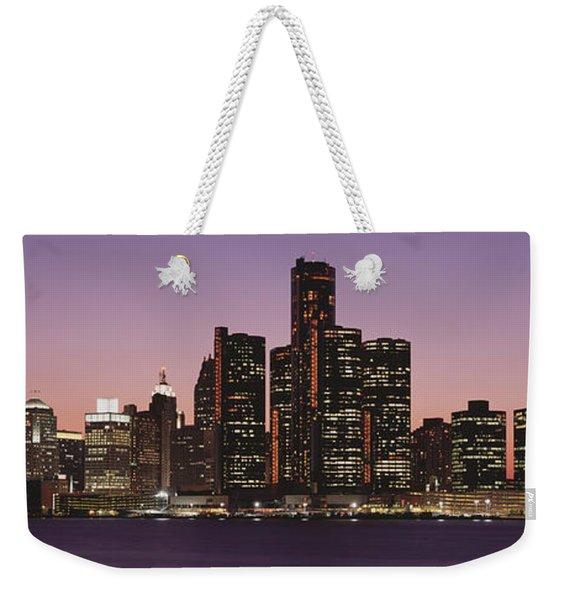 Detroit, Michigan, Usa Weekender Tote Bag