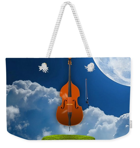 Double Bass Weekender Tote Bag