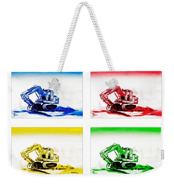 Dozer Mania Weekender Tote Bag
