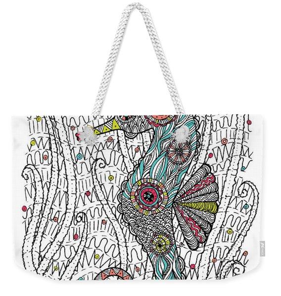 Dream Seahorse Weekender Tote Bag