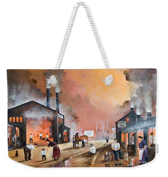Dudleys By Gone Days Weekender Tote Bag