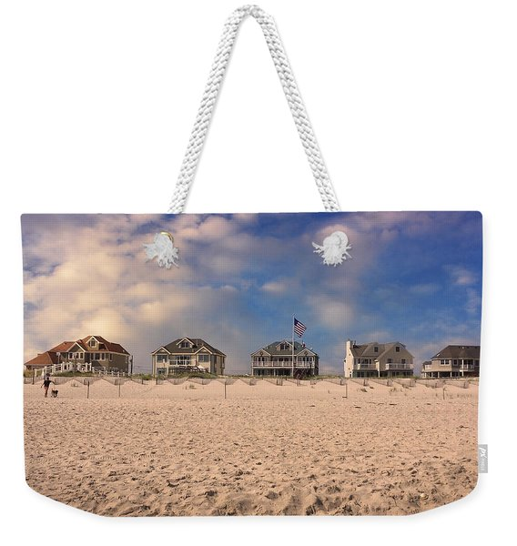 Dune Road Weekender Tote Bag