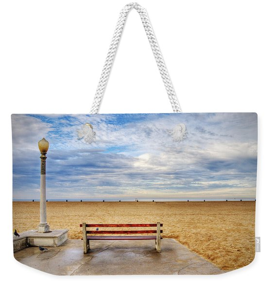 Early Morning At The Beach Weekender Tote Bag