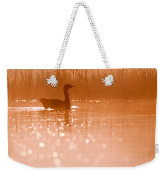 Early Morning Magic Weekender Tote Bag