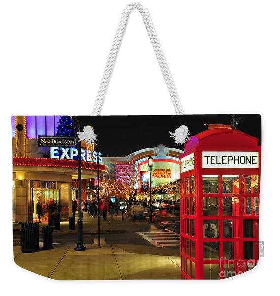 D65l-162 Easton Town Center Photo Weekender Tote Bag