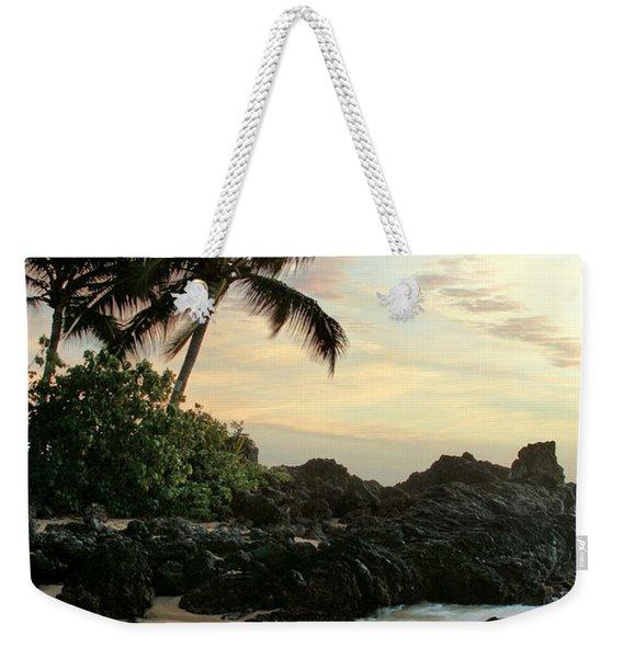 Edge Of The Sea Weekender Tote Bag