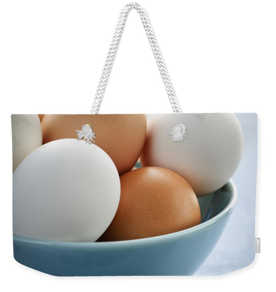 Eggs In Bowl Weekender Tote Bag