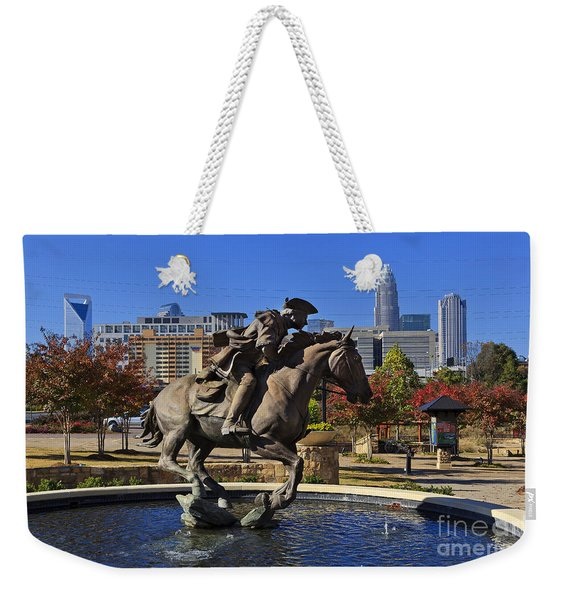 Elizabeth Park At Charlotte Weekender Tote Bag