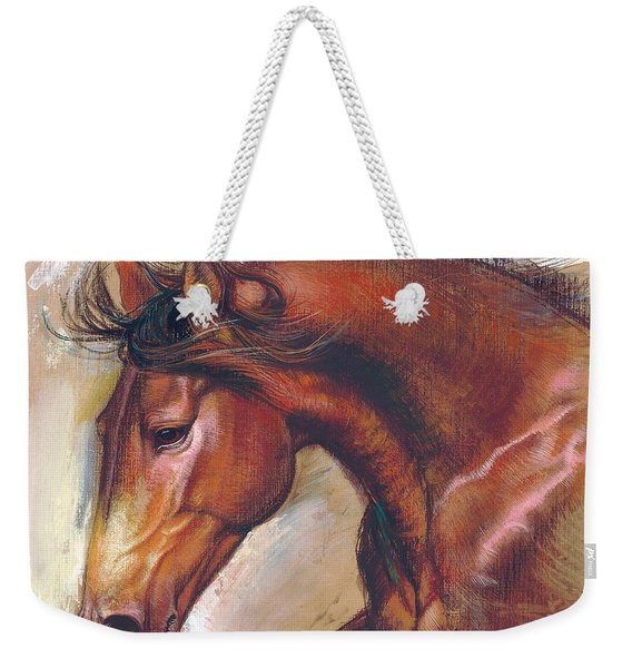 English Horse Variant 1 Weekender Tote Bag