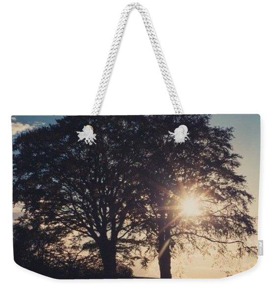 Evening Glow Weekender Tote Bag