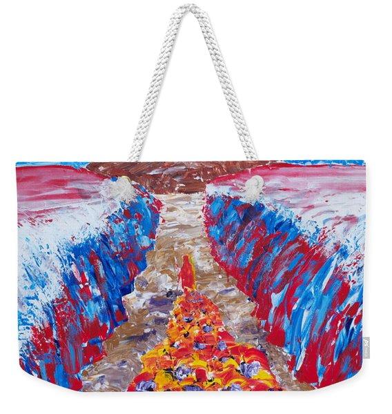 Exodus Weekender Tote Bag