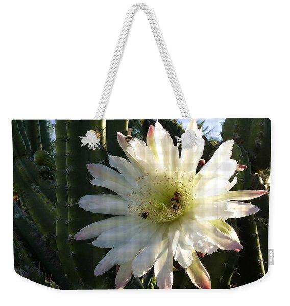 Flowering Cactus 1 Weekender Tote Bag