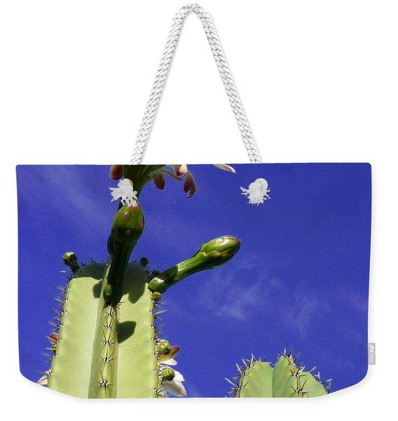 Flowering Cactus 2 Weekender Tote Bag
