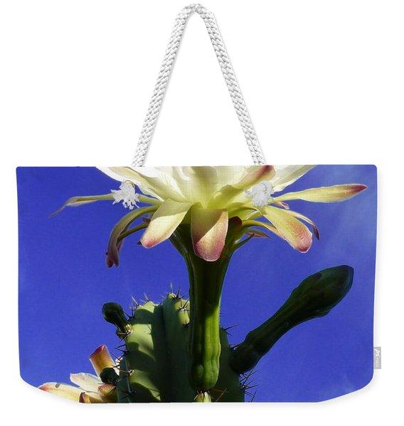 Flowering Cactus 3 Weekender Tote Bag
