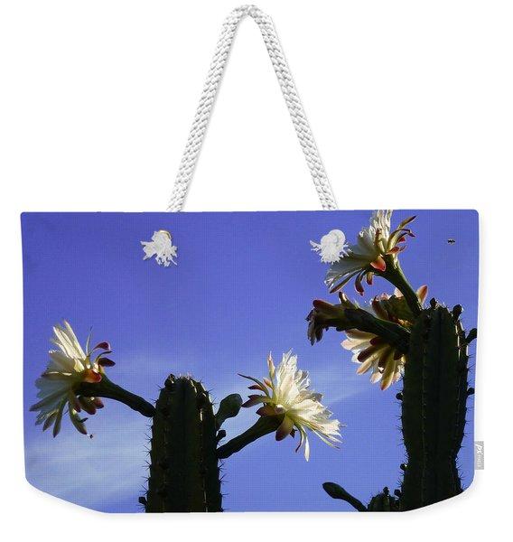 Flowering Cactus 4 Weekender Tote Bag
