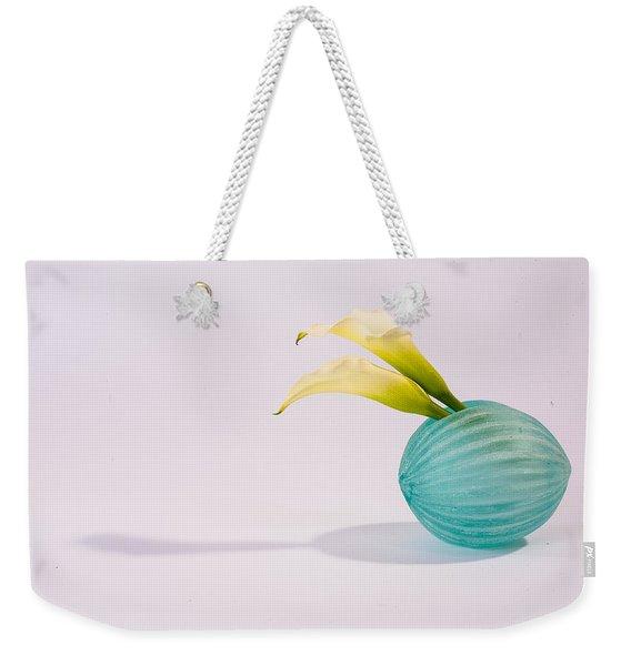 Flowers In Vases 8  Weekender Tote Bag