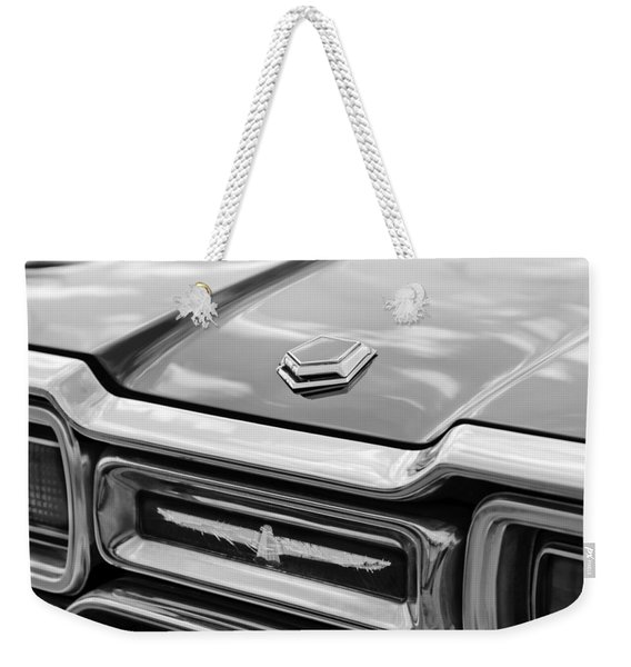 Ford Thunderbird Tail Lights Weekender Tote Bag