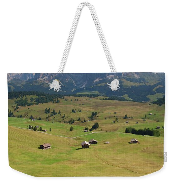 Four Mountain Bikers Are Riding Weekender Tote Bag