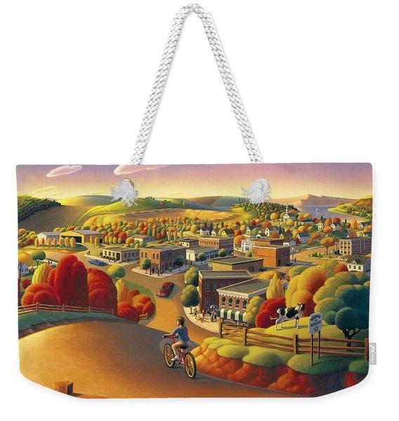 Friendly  Weekender Tote Bag