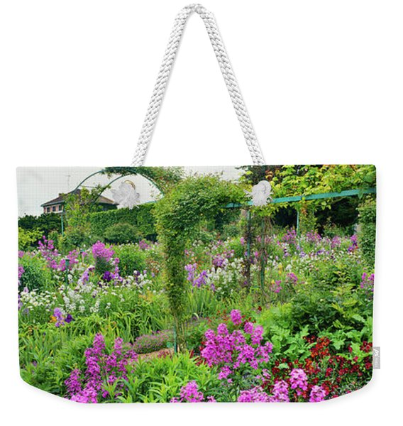 Garden Of Claude Monets House, Giverny Weekender Tote Bag