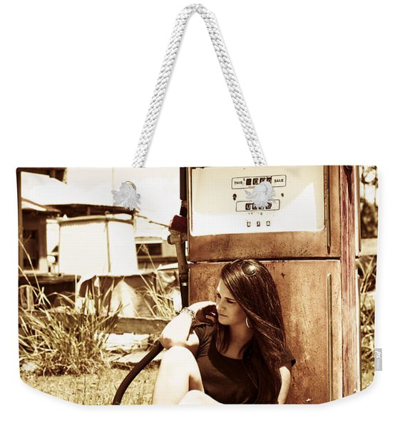 Ghost Town Named Oil And Gas Weekender Tote Bag