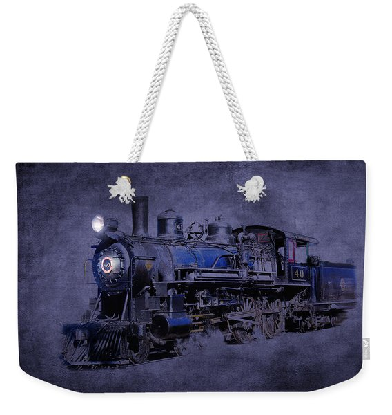 Weekender Tote Bag featuring the photograph Ghost Train by Gunter Nezhoda
