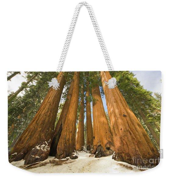 Giant Sequoias Sequoia N P Weekender Tote Bag