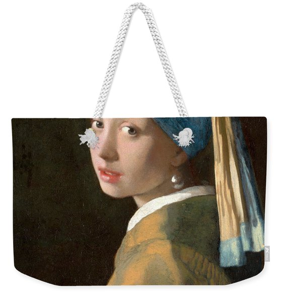 Girl With A Pearl Earring Weekender Tote Bag