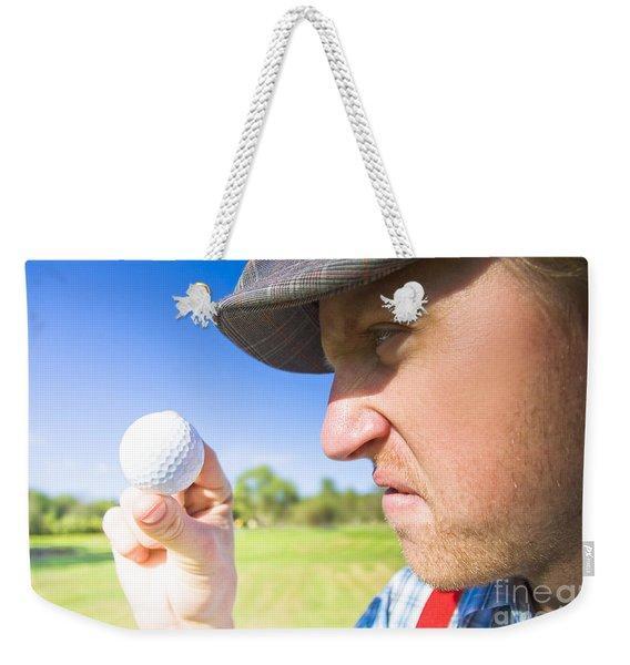 Golf Mid Game Crisis Weekender Tote Bag