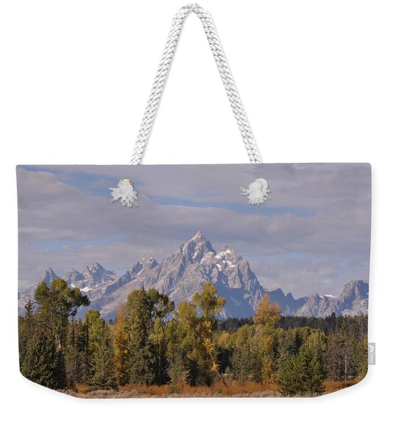 Grand Teton Weekender Tote Bag