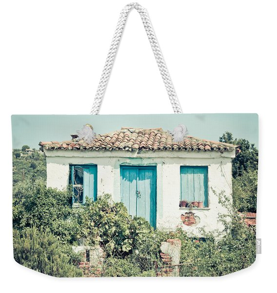 Greek House Weekender Tote Bag
