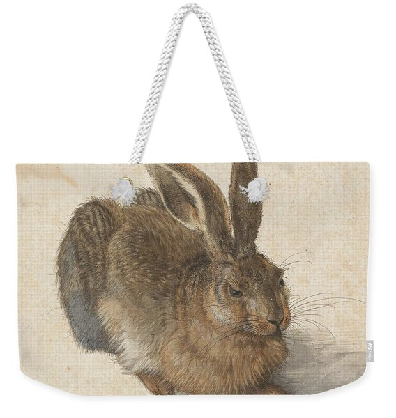 Young Hare Weekender Tote Bag