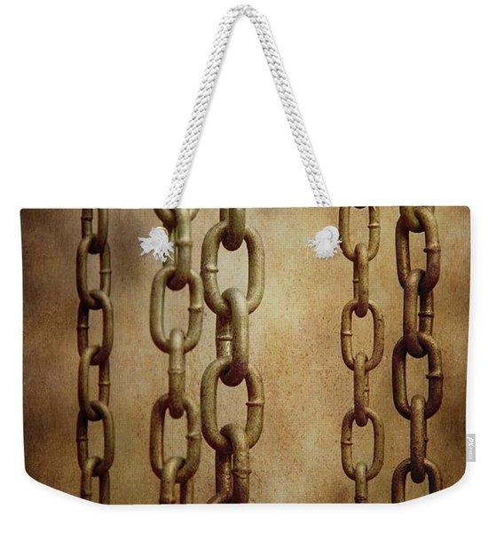 Hanged Chains Weekender Tote Bag