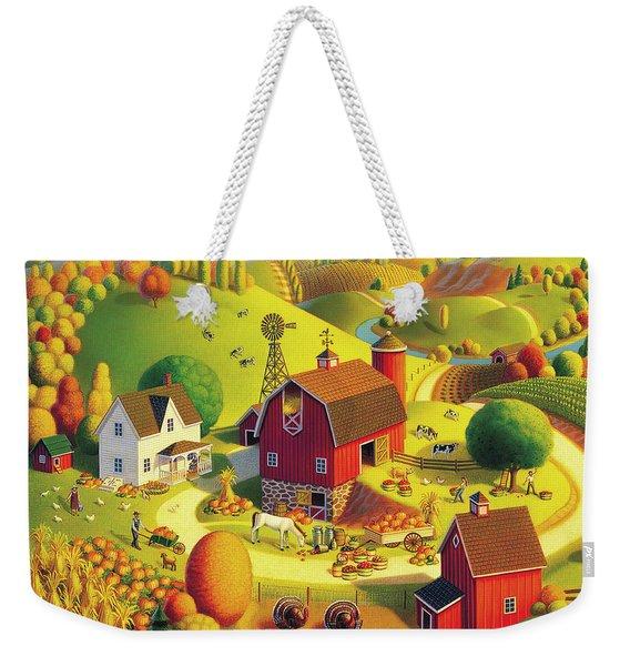 Harvest Bounty Weekender Tote Bag