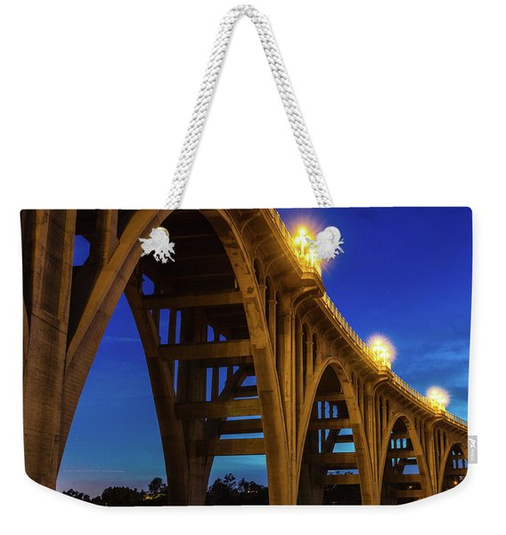 Historic Colorado Bridge Arches Weekender Tote Bag