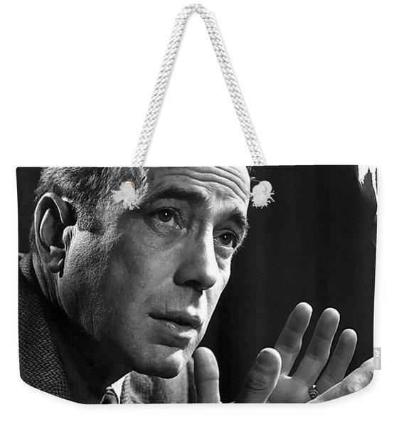 Humphrey Bogart Portrait 2 Karsh Photo Circa 1954-2014 Weekender Tote Bag