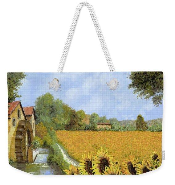 Il Mulino E I Girasoli Weekender Tote Bag