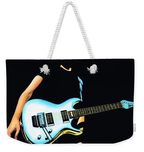 Joe Satriani Painting Weekender Tote Bag