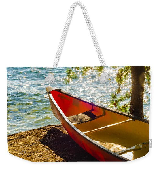 Kayak By The Water Weekender Tote Bag