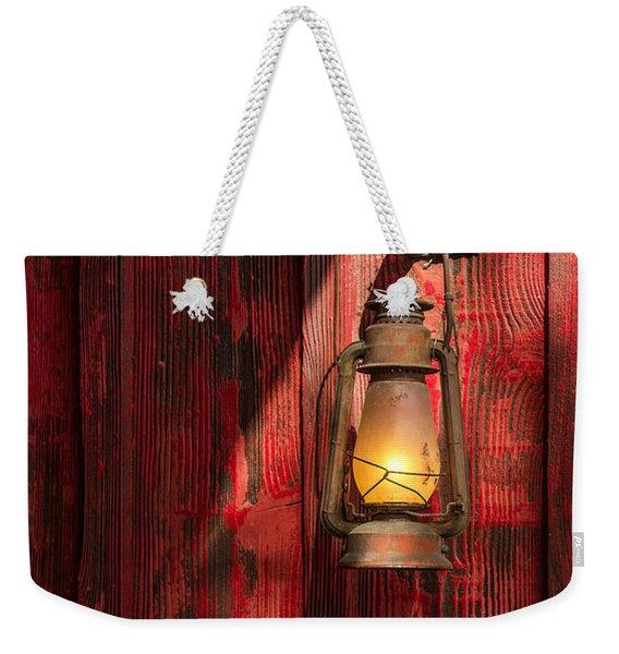 Kerosene Lantern Weekender Tote Bag