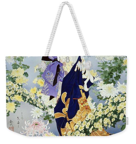Kiku Weekender Tote Bag