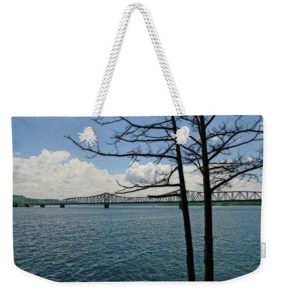 Kimberling City Bridge Weekender Tote Bag