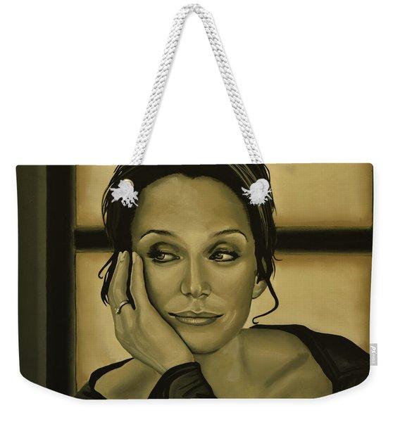 Kristin Scott Thomas Weekender Tote Bag