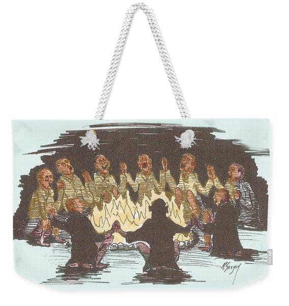 Kumbaya Weekender Tote Bag