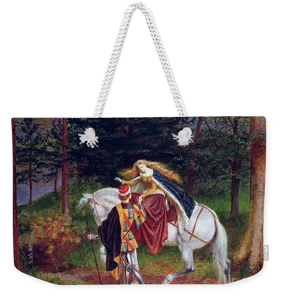 La Belle Dame Sans Merci Weekender Tote Bag